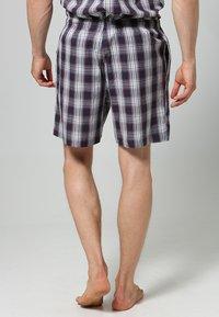 Jockey - PYJAMA 1/2 WOVEN - Pyjama set - red/white - 4