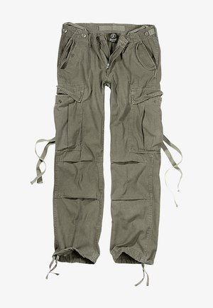 Cargo trousers - olive