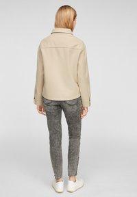 Q/S designed by - Summer jacket - beige - 2