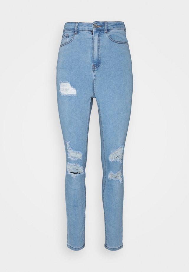 ASSETS SINNER - Skinny džíny - light blue