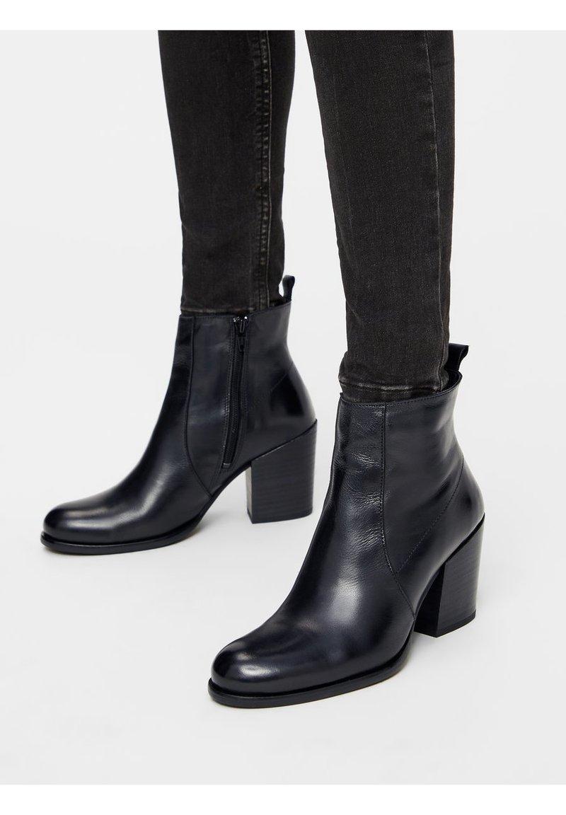 Bianco - BIADELMA - Classic ankle boots - black