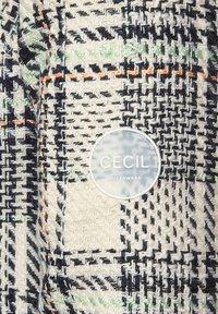Cecil - MIT KAROMUSTER - Classic coat - orange - 5