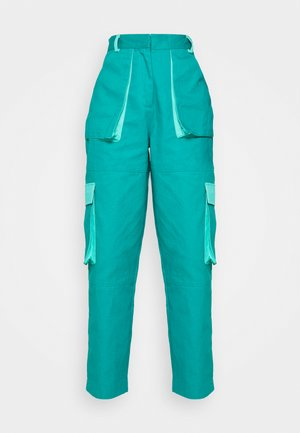 CONEY COMBAT - Trousers - teal