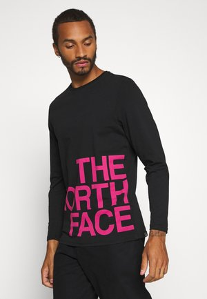GRAPHIC FLOW - Long sleeved top - black/pink