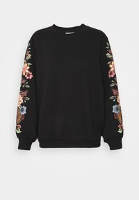 ONLY - ONLCONNY  LIFE O NECK - Sweatshirt - black - 4
