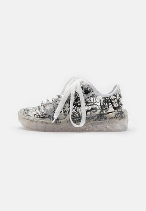 TRANSPARENT PRINTED SKATE  - Sneakers laag - transparent