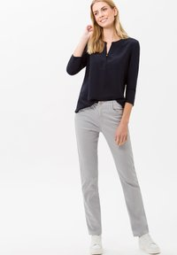 BRAX - STYLE CAROLA - Straight leg jeans - grey - 1