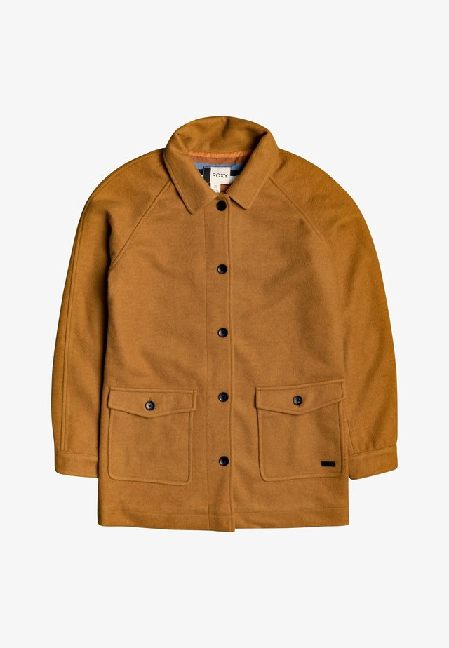 Halflange jas - buckthorn brown