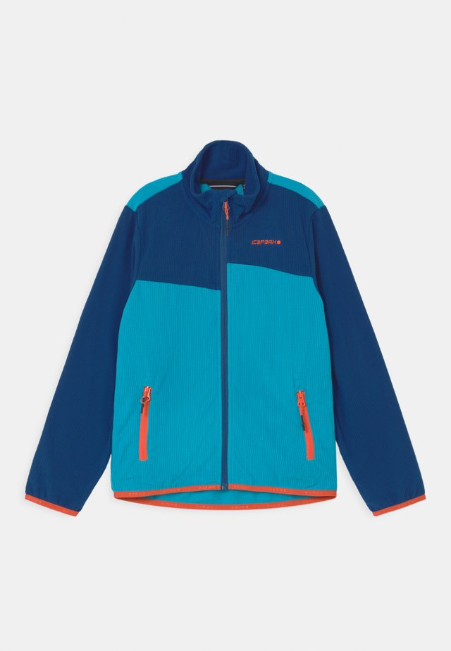 KENTWOOD UNISEX - Giacca in pile - blue