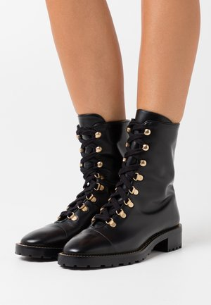 KOLBIE - Lace-up ankle boots - black