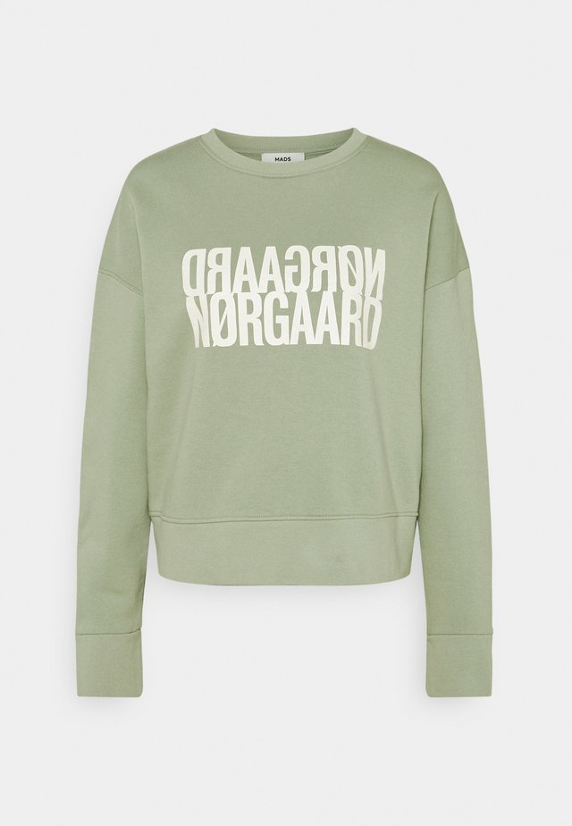 ORGANIC TILVINA - Sweatshirt - light army