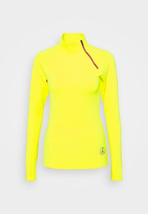 NOVELTY  - Long sleeved top - lemon