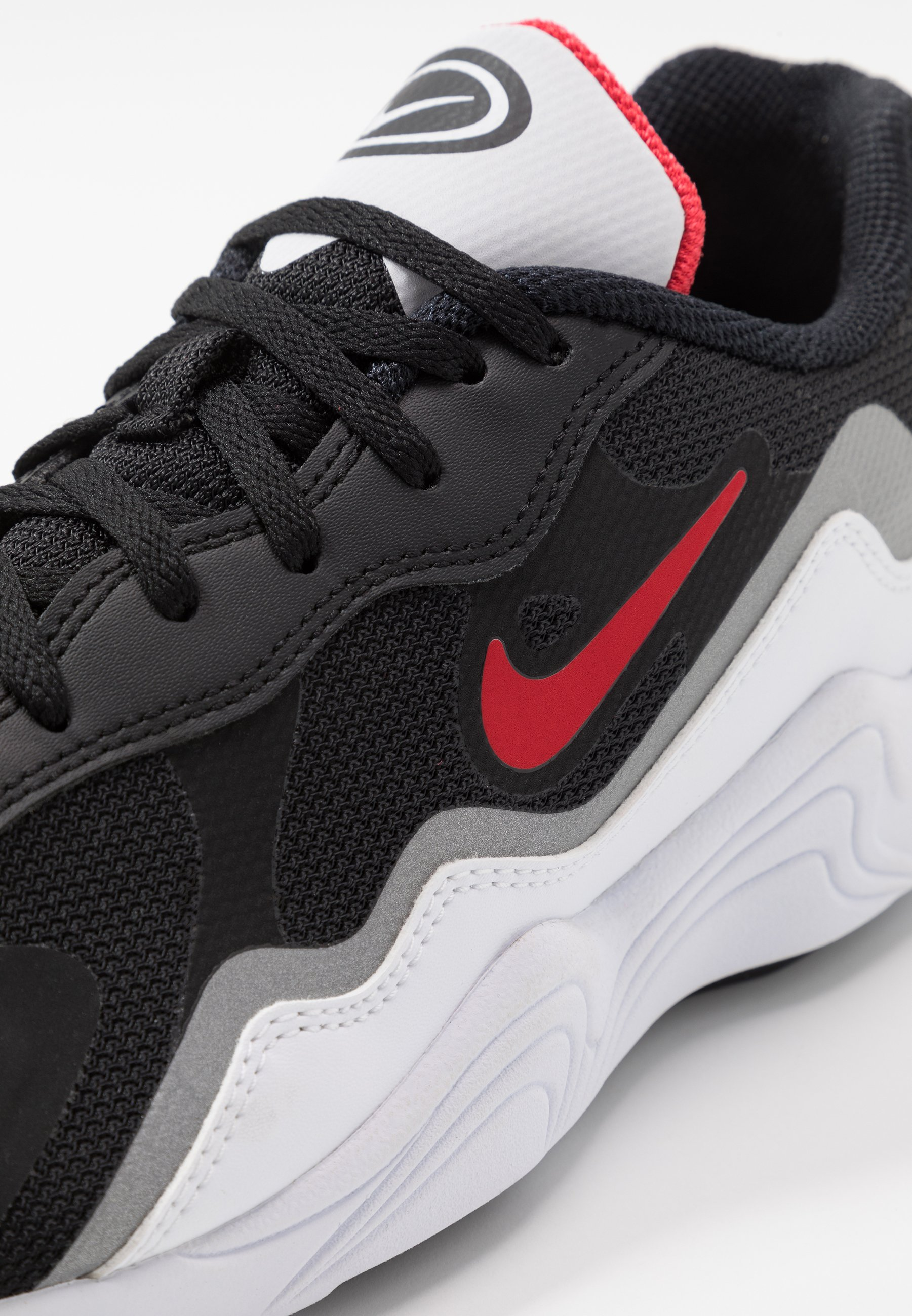 Nike Sportswear ALPHA LITE - Joggesko - black/university red/white/reflective silver