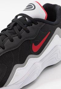 Nike Sportswear - ALPHA LITE - Trainers - black/university red/white/reflective silver - 5