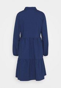 Marc O'Polo DENIM - DRESS BUTTON PLACKET - Shirt dress - scandinavian blue - 8
