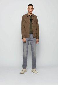 BOSS - Straight leg jeans - grey - 1