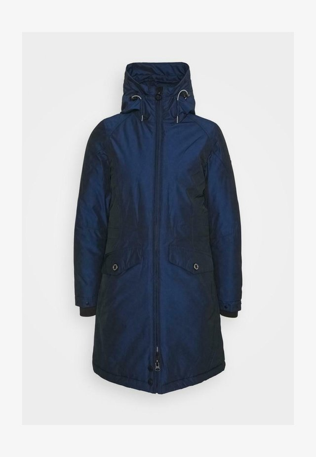 Winter coat - royalblau