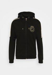 Glorious Gangsta - RAYLOW HOOD - Zip-up sweatshirt - jet black/gold - 5