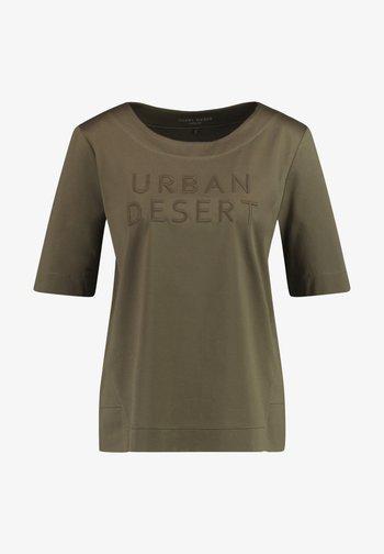 T-shirt imprimé - light khaki