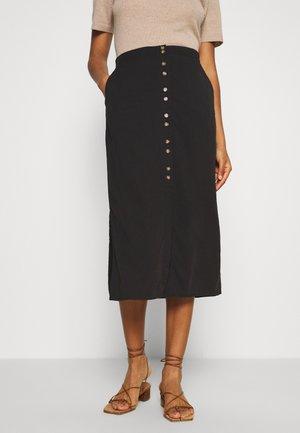 VMHAFIA SKIRT - A-snit nederdel/ A-formede nederdele - black
