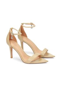 Kazar - Sandály na vysokém podpatku - light brown - 1