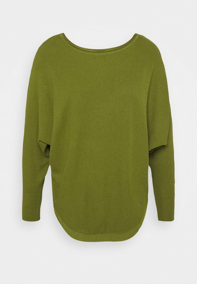 Strickpullover - leaf green