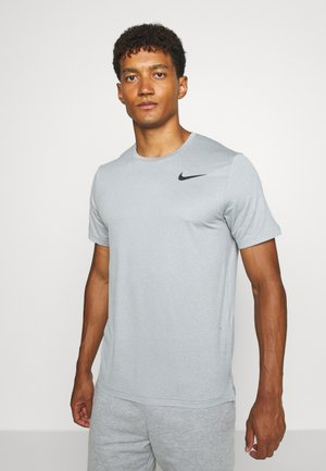 T-Shirt basic - smoke grey/light smoke grey/heather/black