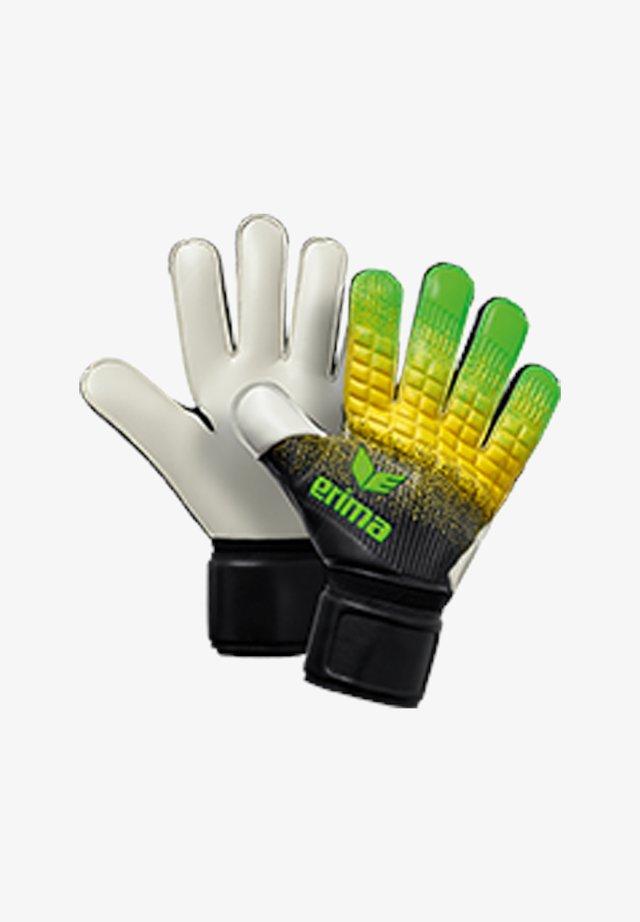 Goalkeeping gloves - gruenschwarzgelb