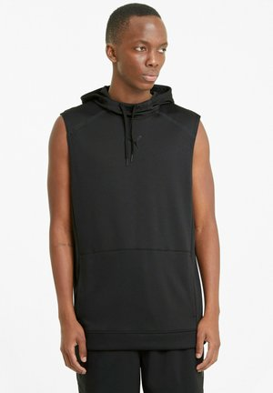 TRAIN TECH   - Luvtröja - puma black