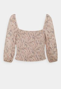 American Eagle - RUCHED FRONT - Bluser - multicoloured - 1