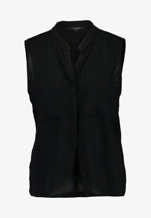 ERIKA SOLID  - Blouse - black
