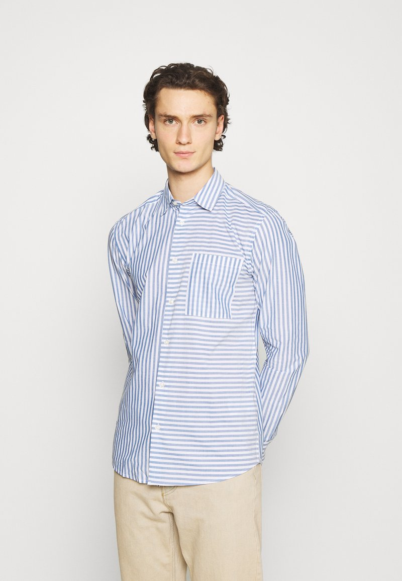 Only & Sons - ONSTRIPP LIFE STRIPED - Shirt - cashmere blue