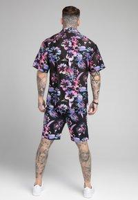 SIKSILK - HAWAII RESORT SHIRT - Shirt - black - 2