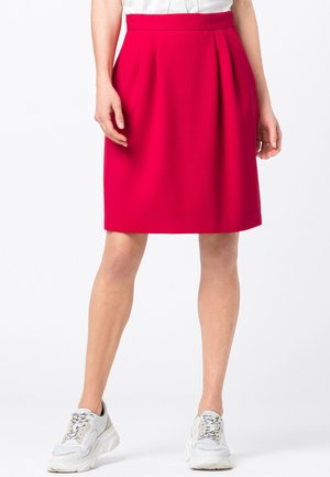 A-line skirt - cyclam