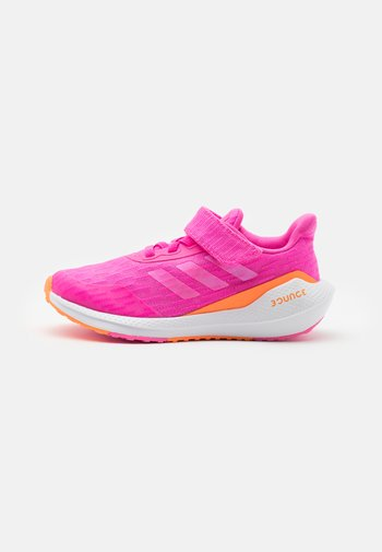 EQ21 RUN UNISEX - Neutrální běžecké boty - screaming orange/footwear white
