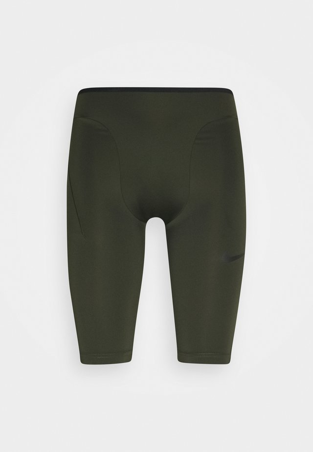 SHORT - Pants - sequoia/black