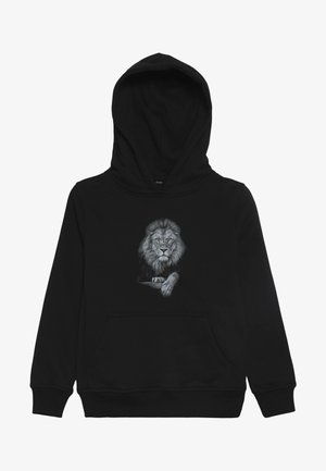 KIDS LION HOODY - Sweat à capuche - schwarz