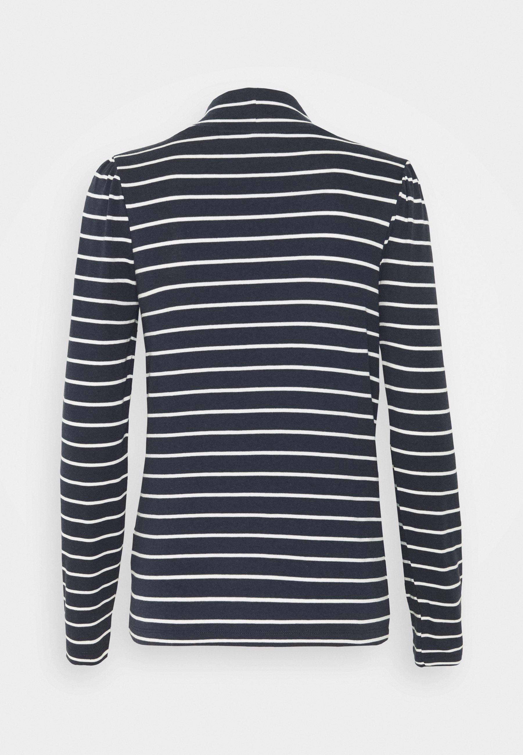 Esprit Puff - Topper Langermet Navy/white/mørkeblå