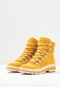 Tamaris - Lace-up ankle boots - saffron - 4
