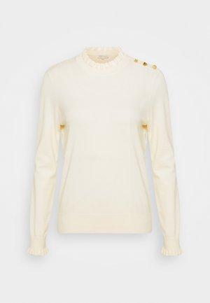 DISCO HEART - Jersey de punto - cream white