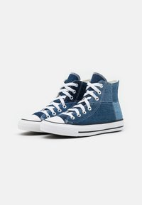 Converse - CHUCK TAYLOR ALL STAR UNISEX - High-top trainers - light denim/dark denim/white - 1