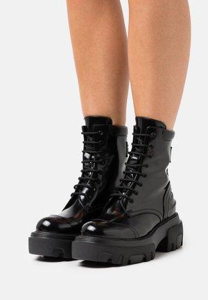 STIVALE DONNA BOOT - Platform ankle boots - black
