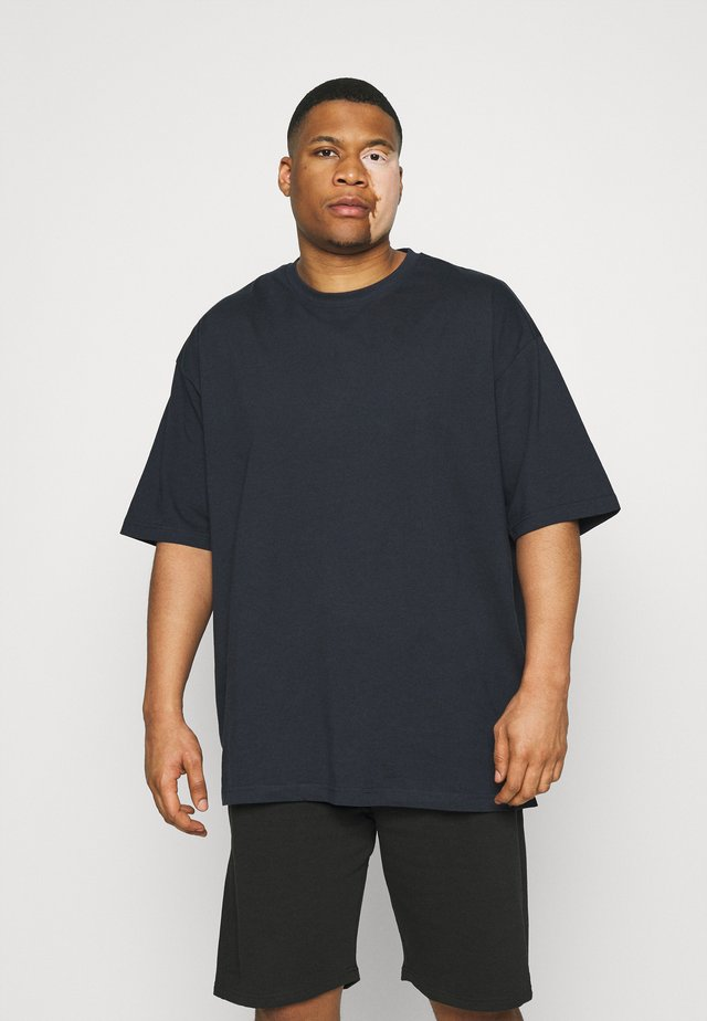 OVERSIZED TEE BIGUNI - T-shirt basique - navy