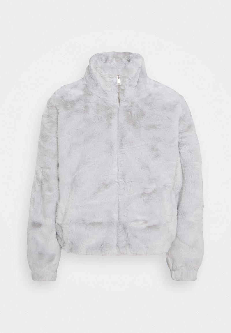 New Look - THEO FUNNEL NECK  - Light jacket - light grey