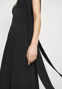 Victoria Beckham - DOUBLE FLARE MIDI - Cocktail dress / Party dress - black - 5