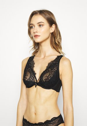LATISHA UP - Underwired bra - caviar