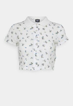 POINTELLE DITSY  - Poloshirt - white