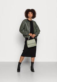 InWear - CADIX JACKET - Leather jacket - green olive - 1
