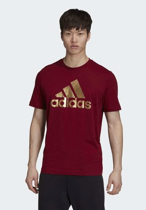 ADIDAS ATHLETICS GRAPHIC T-SHIRT - Print T-shirt - burgundy