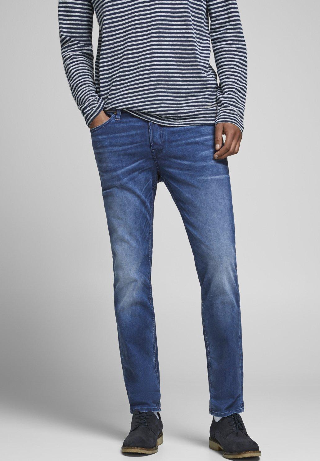 Uomo JJJJITIM JJORIGINAL - Jeans slim fit